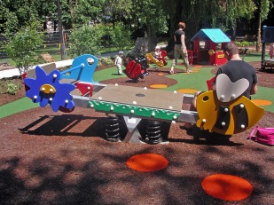 Junior play area
